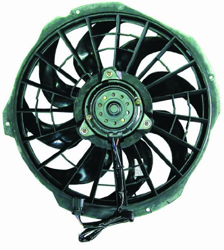 BMW 3 SERIES E36 92 - 99 A/C AC CONDENSER FAN ASSEMBLY 323i Condenser Cooling Fan