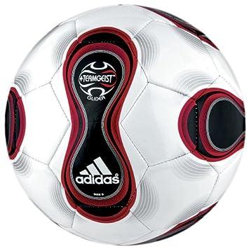 adidas Glider balón de fútbol Blanco/Rojo: Amazon.es: Deportes y ...
