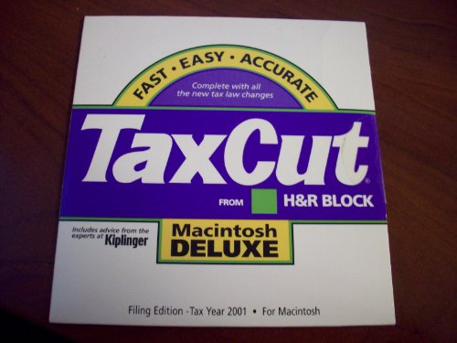 H & R Block TaxCut from H&R Block 2001 Deluxe Filing Edition