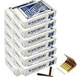 12 Boxes - White Plain Matches Matchbooks Wedding, Anniversary, Birthday, Party (600 Matchbook Total)