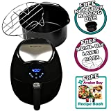 Avalon Bay AB-AirFryer200SS Airfryer in Stainless Steel