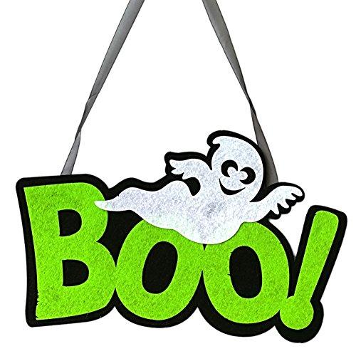 lightclub Funny Boo Ghost Hanging Wall Door Window Home Office Decor Halloween Accessory Boo
