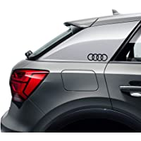 Audi 8W0064317E decoratieve folie embleem design ringen logo sticker zwart