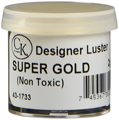 Ck Products Dust Lustre - Oasis supply Lustre Dust, Egyptian Gold (Super Gold), 2 Gram