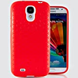 Hyperion Samsung Galaxy Note 3 Extended Battery HoneyComb Matte TPU Case / CoverHyperion Retail Packaging [2 Year NO HASSLE Warranty] (RED)