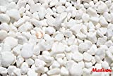 New Decorative Natural Snow White, Garden & Landscaping Stone Rocks Pond & Fountain -Size 1-1.5'' (medium) Weight 10lbs US, Fast ship (Only 20 sets left)