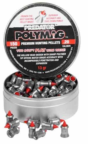 - Predator Polymag Ballistic .20 Cal Airgun Pellets