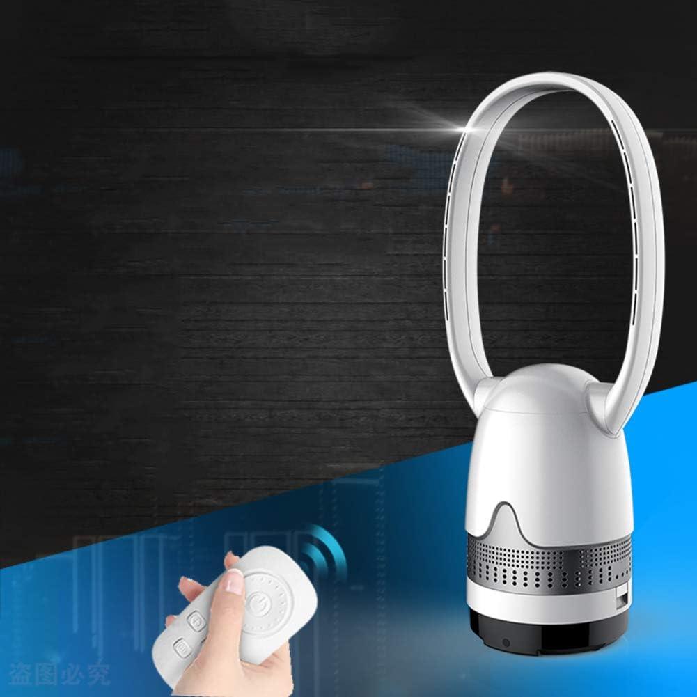 IMUGTT Ultra-silencioso Ventilador Sin Aspas, Oscilante Remote Control Ventilador De Torre, Purificador Mute Enfriador De Aire Suelo Escritorio Aire Acondicionado ...