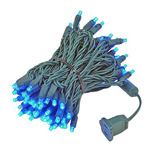 Blue Led Christmas Lights Outdoor in US - 6