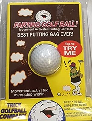 Trick Golf Ball Co. Joke Farting Golf Ball Novelty Gag Gift