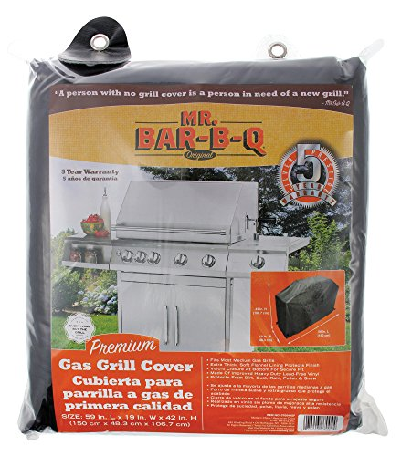 Mr Bar B Q 07004XEF Premium Medium Grill Cover