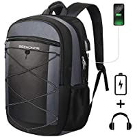 """Seehonor 15.6"""" Travel Laptop Backpack with USB Charging Port"""