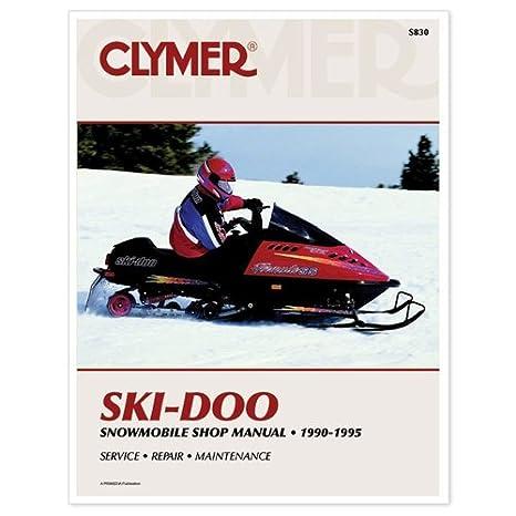 amazon com clymer service manual ski doo 90 95 sports outdoors rh amazon com ski doo service manual 2016 ski doo service manual free download