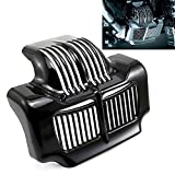 #2: Stock Oil Cooler Cover For Harley Touring FLHT FLTR Electra Road Street Trikes Glide Road King 2011-2016 (Black)