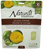 Natural Traditions Powder, Lucuma, 7 Ounce (Pack of 12)