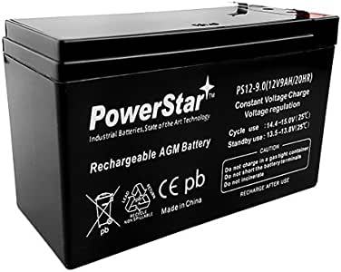 PowerStar Replacement Battery for PX12072 [NON-OEM] LONGEST LASTING