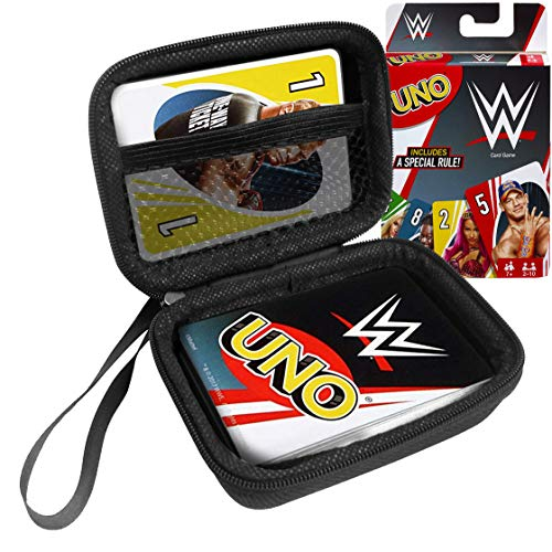 FitSand Hard Case for Mattel Games UNO WWE Card Game