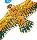 Flying Golden Eagle Kite Colourful 48