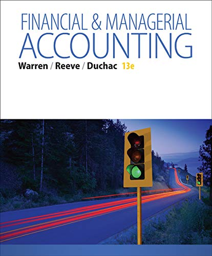 Financial & Managerial Accounting ()
