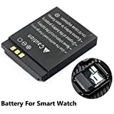 BuyKarNow 380mAh LQ-S1 Smart Watch Replacement Battery for DZ09-429