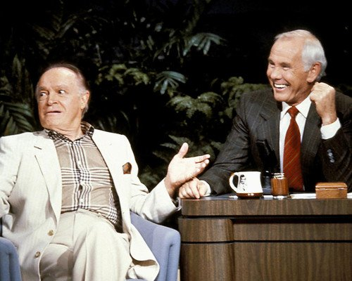 Johnny Carson and Bob Hope classic on Tonight Show 16x20 Poster