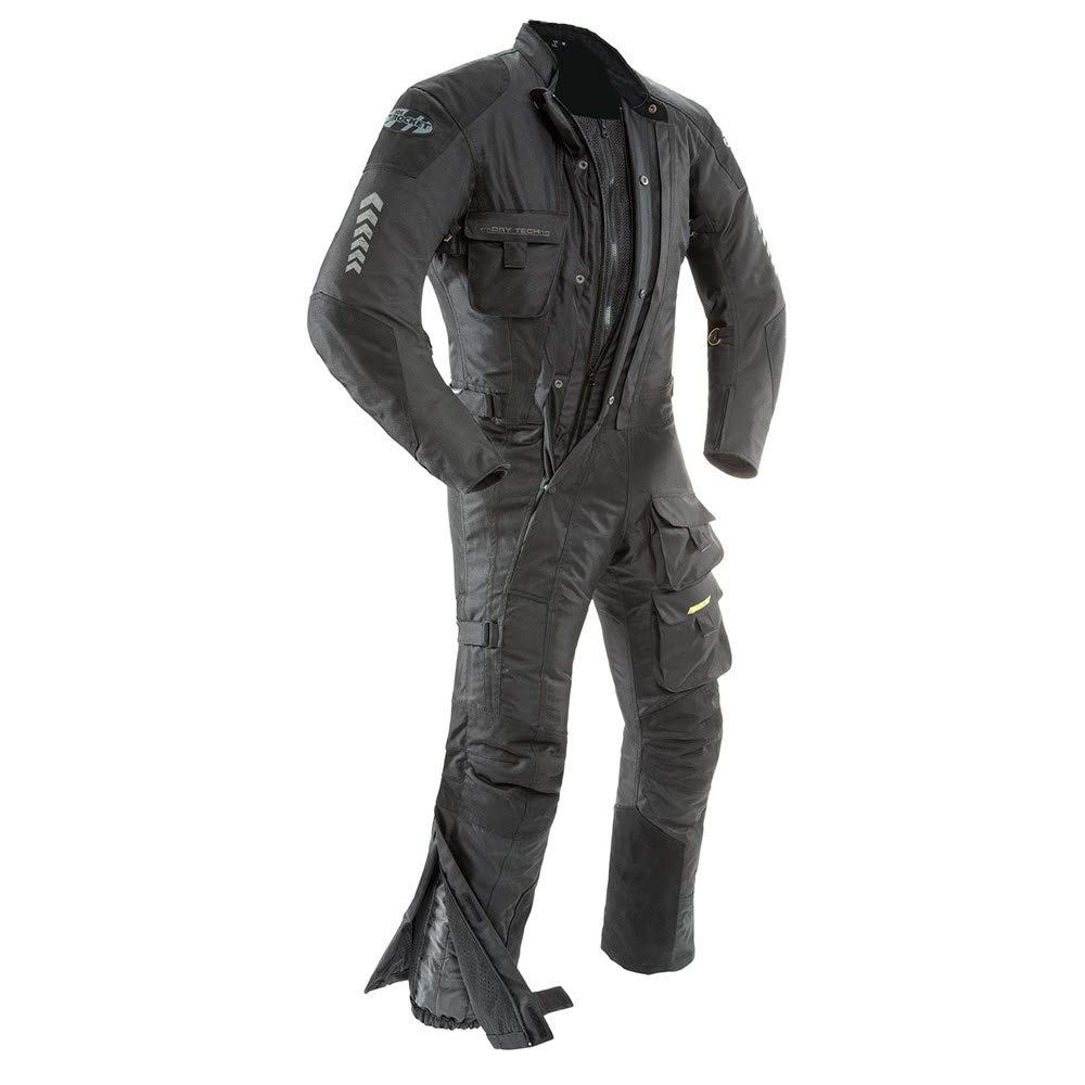 Joe Rocket Men's Survivor Suit in Black/Black - X-Large/Short by Joe Rocket
