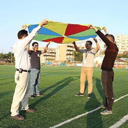 BlueShy9999-20x4x15CM Child Kid Sports Development Outdoor Umbrella Parachute Toy Jump-sack Ballute Play Parachute by BlueShy9999