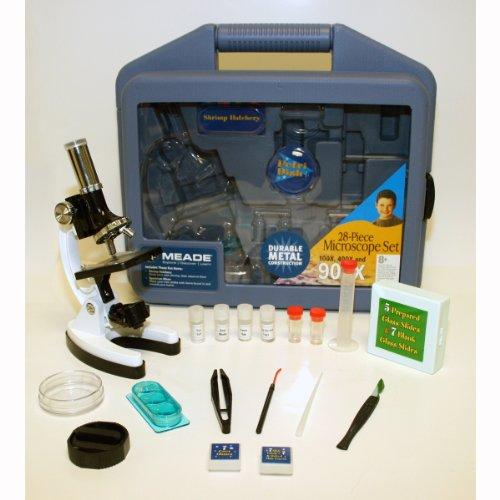 Meade Childrens 28 Peice Microscope - Microscope Meade