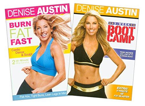 Denise Austin (Burn Fat Fast / 3-Week Boot (Iii English Boot)