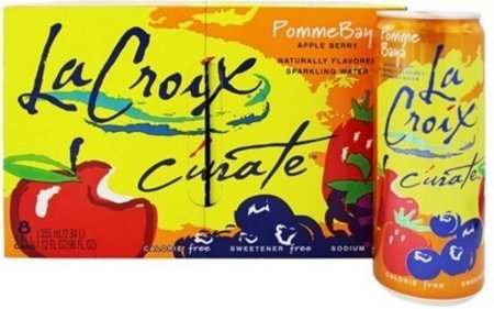La Croix Pomme Baya Sparkling Water 12 oz (Pack of 16 Cans)