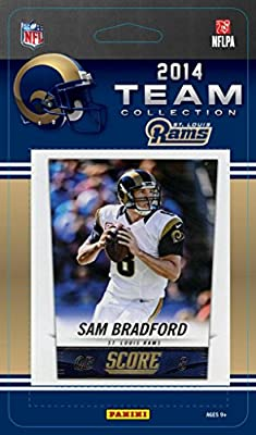 St. Louis Rams 2014 Score NFL Football Factory Sealed 13 Card Team Set