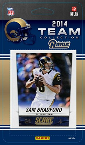 St Louis Rams Memorabilia (St. Louis Rams 2014 Score NFL Football Factory Sealed 13 Card Team Set)