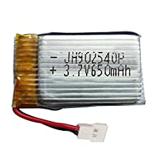 3.7V 650mAh 20C Lipo Battery for Syma X5 X5C X5A X5SC Helicopter Remote Control RC Quadcopter Aircraft Accessories