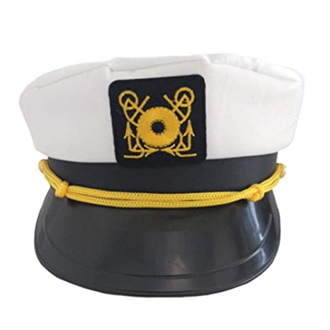 Gorra del capitán del yate ajustable, gorros de fiesta en el yate ...