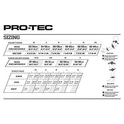 PROTEC Original Classic Rental Skate Helmet CPSC-Certified, Gloss Yellow, X-Small : Skate And Skateboarding Helmets : Sports & Outdoors
