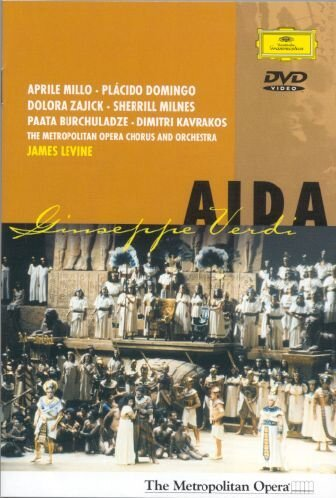 Price comparison product image Verdi - Aida / Levine, Domingo, Millo, Metropolitan Opera