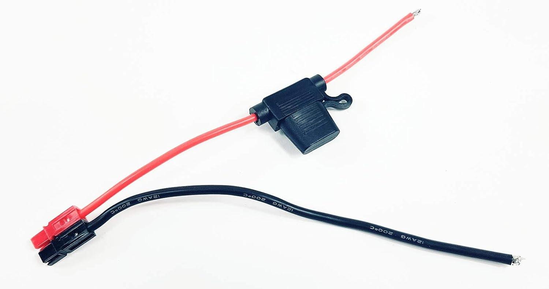 Câble de raccordement Anderson Powerpole Connecteur Scooter E-Bike PORT Batterie