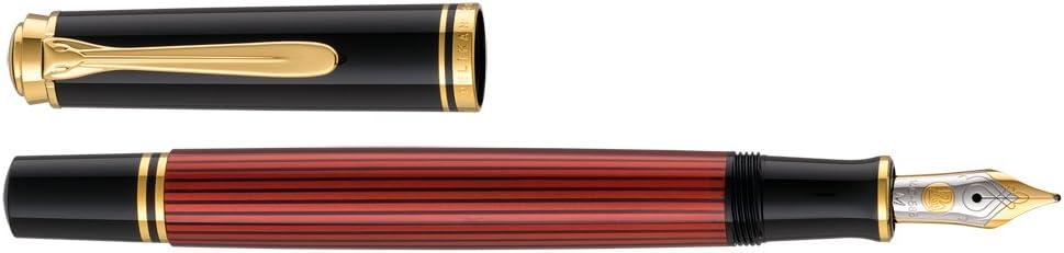red Pelikan Premium M400/fountain pen M Colour Plume black