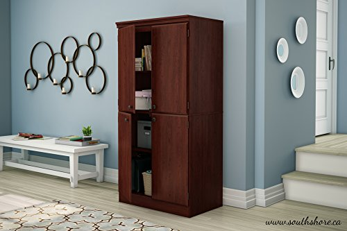 Contemporary Wood Display Cabinet - 6