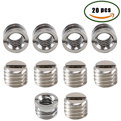 20PCS Tripod Adapter 3/8