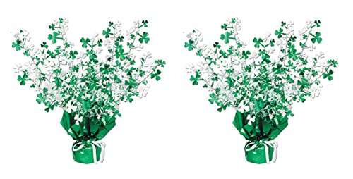 Shamrock Table Decorations (Beistle S30805AZ2 shamrock centerpiece,)