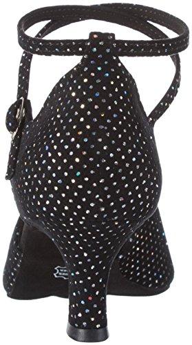 Diamant Femme 105-068-155 Velours Synthétique Noir