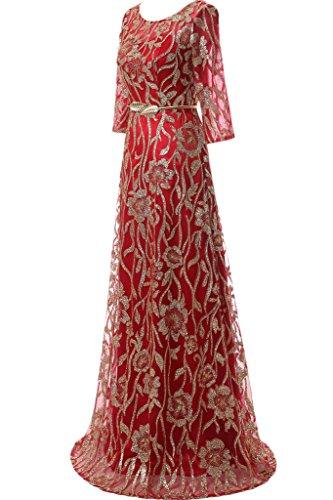cuore forma di abito Festa ivyd Modern Prom a Hi vivo Rueckenfrei ressing donna rosso abito sera Lo Party da pizzo vestito Tuell wqSCx8S0Y