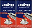 Lavazza 2 Pack Crema E Gusto Ground Coffee 8.8oz/250g Each