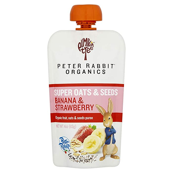 The Best Peter Rabbit Organic Food Pouches