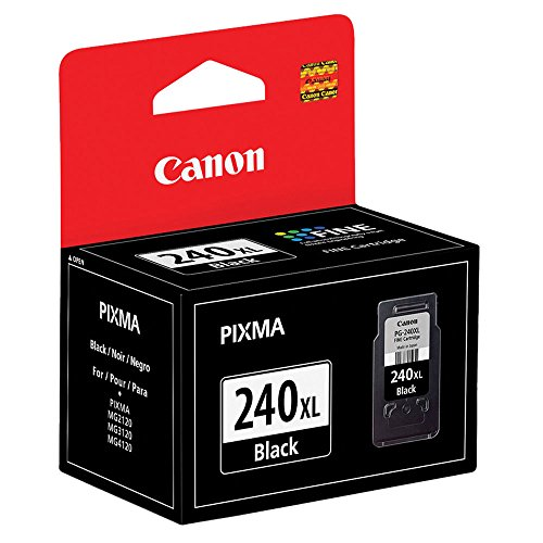 Canon PIXMA MX472 (PG-240XL) Black Ink Cartridge High Yield (300 Yield) NEW