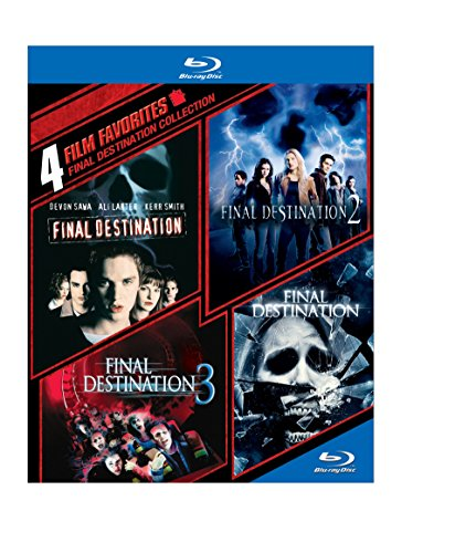 4 Film Favorites: Final Destination Collection [Blu-ray] Destination Collection
