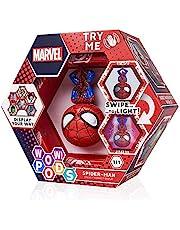 WOW! PODS Avengers Collectie - Spider-Man | Superhero Light-Up Bobble-Head Figuur | Officiële Marvel Speelgoed, Collecties & Geschenken