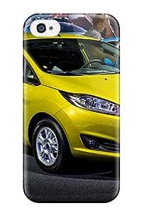 New Style ZippyDoritEduard Ford Fiesta Titanium Yellow Premium Tpu Cover Case For Iphone 4/4s
