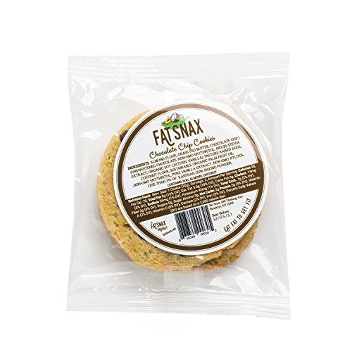 Large Product Image of Fat Snax Chocolate Chip Cookies - Keto, Low Carb, and Sugar Free (6-pack (12 cookies))